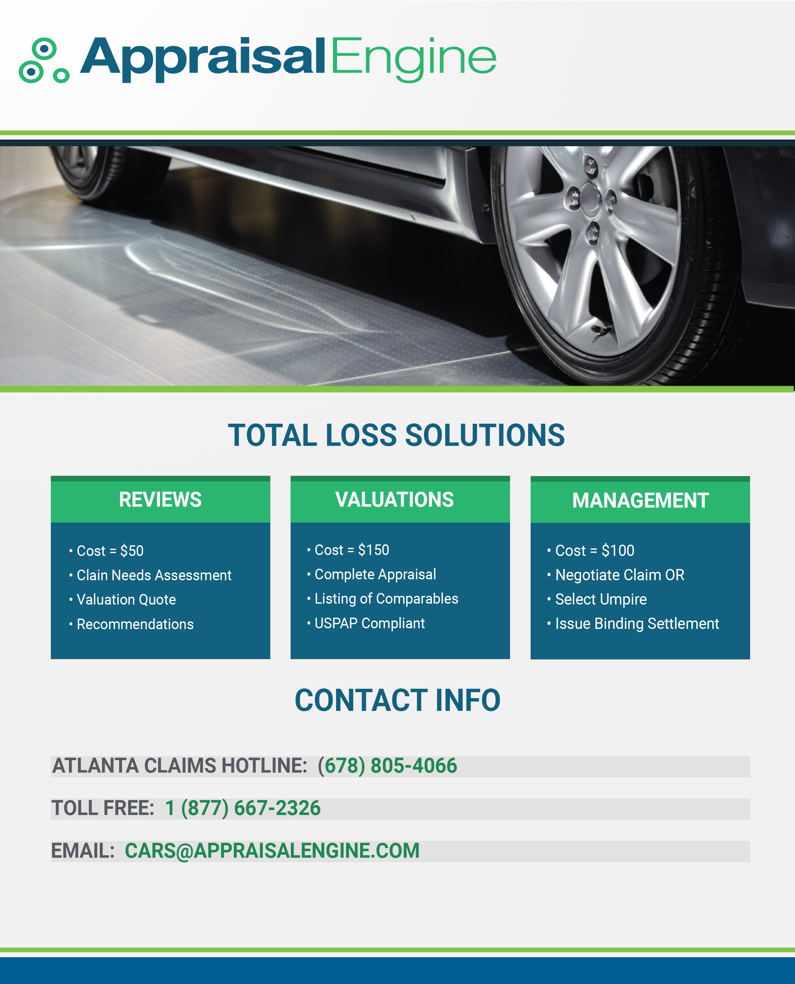 TOTAL LOSS APPRAISAL SERVICES